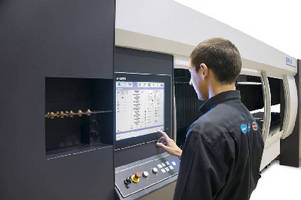 CO2 Laser Cutting Systems feature 19 in. touchscreen GUI.