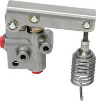 Load-Apportioning Valve minimizes trailer wheel lock-up.