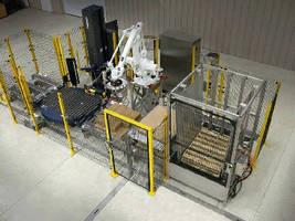 Lean Palletizer handles loads over 100 lb.