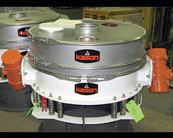 Gyratory Sifter features low profile design for tight spaces.