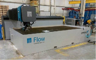 Harvan Manufacturing Ltd. Expands Services with New Flow Mach 4 Dynamic WaterJet Cutting System Model 4020b