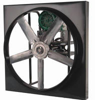 Panel Fan is intended for belt drive applications.