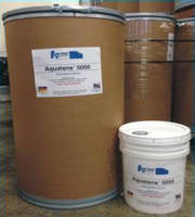 Water-Based Coating resists oil and grease.