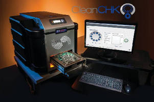 Particulate Analyzer monitors automotive part cleanliness.