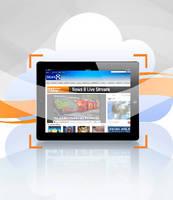 Cloud-Based Service monitors streamed media.