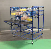 Multiple Use Mobile, Height Adjustable Workstation for Medical Device Manufacturer