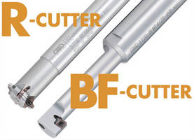 Indexable Cutters work with all steels, cast iron, and aluminum.