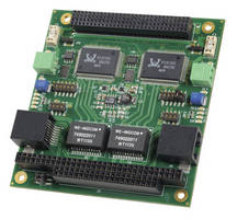 PC/104-Plus 2-Channel Gigabit Ethernet Card supports POE.