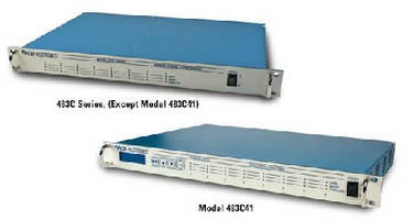 Signal Conditioners feature selectable low pass filtering.