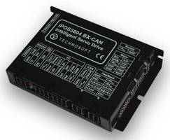 Compact Intelligent Drives are equipped with CAN interfaces.