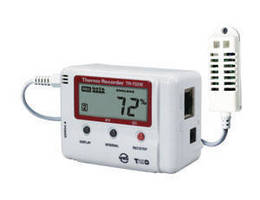 Data Loggers feature network-connected design.