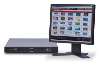 MXF Video Clip Servers create stable ingest/playout environment.