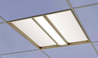 LED Downlight has 4 in. deep, recessed grid-ceiling design.