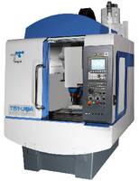 Ultrasonic Machining Center offers 1,890 ipm rapid traverse.