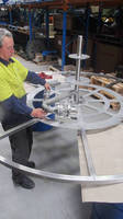 Challenge Met to Make Stainless Steel Reel for Tough Offshore Role