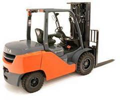 Diesel Lift Truck meets EPA Tier 4-final standards.