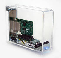 Expansion Enclosure supports Thunderbolt and PCIe.
