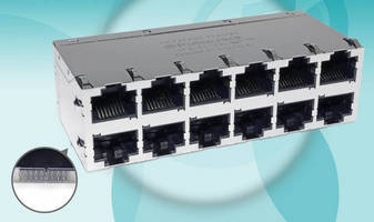 Press-Fit RJ45 Connectors promote process efficiency, throughput.