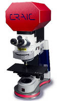 Microspectrophotometer measures samples in UV-NIR range.