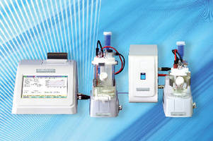 Coulometric Titrator determines trace level water content.