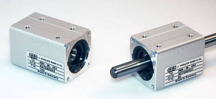 Linear Drive Nut serves small axis metrology machines.