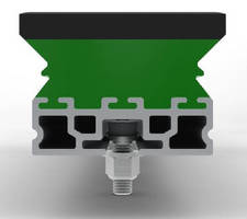 Polyurethane Impact Bar suits bulk material handling areas.