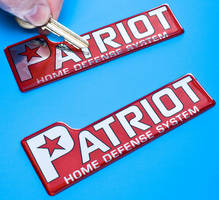 Custom Domed Labels recover from scratches and dents.