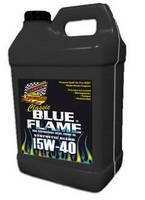 Diesel Motor Oil comes in container with visual level gauge.
