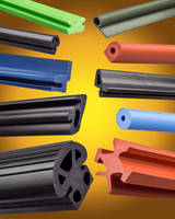 Extruded Rubber Shapes match gasket, seal requirements.