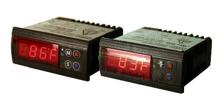 Electronic Temperature Controllers meet UL approval.