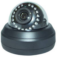 HD Dome Security Camera uses HD-SDI format video.