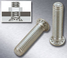 Self-Clinching Flush-Head Studs meet corrosion resistance needs.