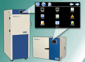 Compact Test Chambers Now Include Touch Screen Controller
