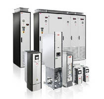 Industrial AC Drives offer range up to 690 V.