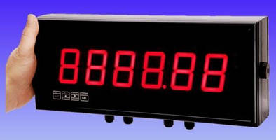 Large Digit Display Indicators offer mix-and-match options.