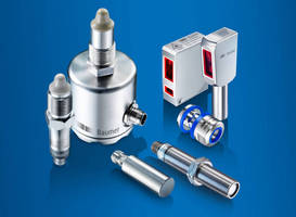 Baumer Hygienic Sensors for Food Processing and Packaging