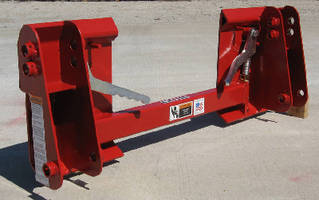 Skid Steer Adapter maximizes loader versatility.