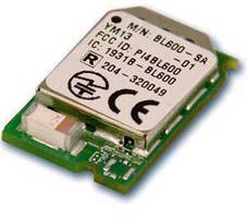 Bluetooth Modules target wireless medical devices.