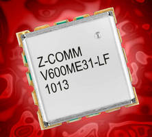 Ultra Wideband VCO suits satellite communication applications.
