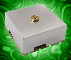 Dielectric Resonator SMT VCO serves test and measurement market.