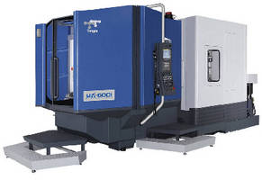 Horizontal Machining Center is available with 0.001° B axis.