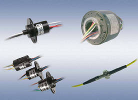 Slip Ring Assemblies support power up to 50 A and beyond.