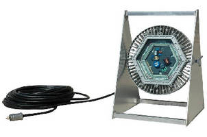 Portable Explosion Proof LED Light produces 10,000 lumens.