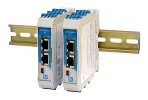 Ethernet I/O Modules facilitate discrete device interfacing.
