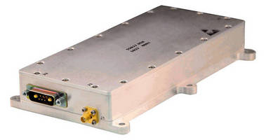 API Technologies Expands High Performance Power Amplifier Line - Includes GaN Based Power Amplifier Technology