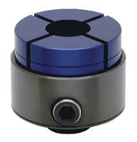 O.D. Holding Clamps lock workpieces with irregular shapes.