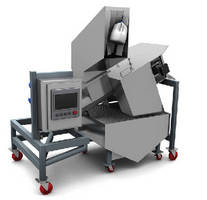 Product Recovery System removes liquids from packaging.