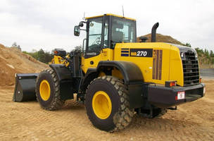 Wheel Loader combines emissions compliance and power.