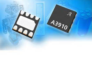 Motor Driver IC supports battery operated applications.