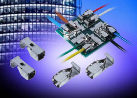 Boxed Contact System enables solderless wire termination.